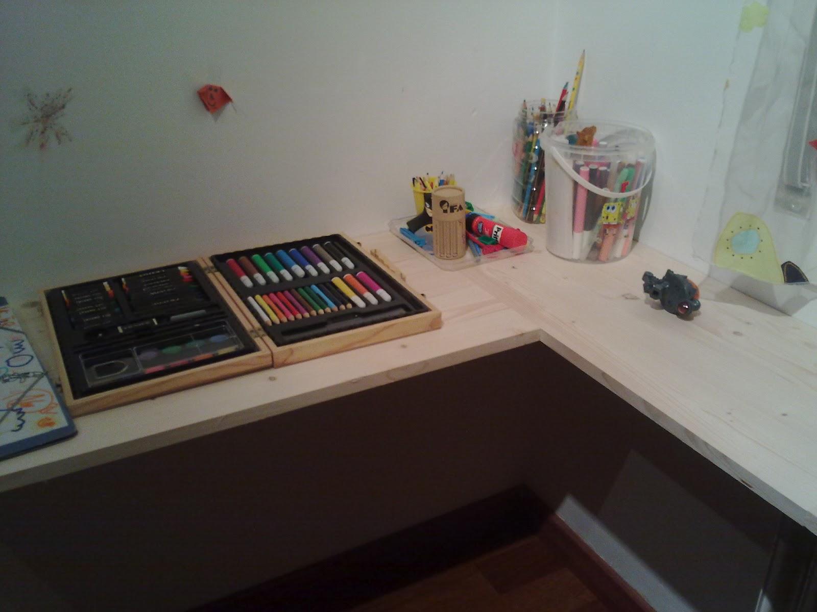 Marta manitas escritorio a medida for Medidas de un escritorio