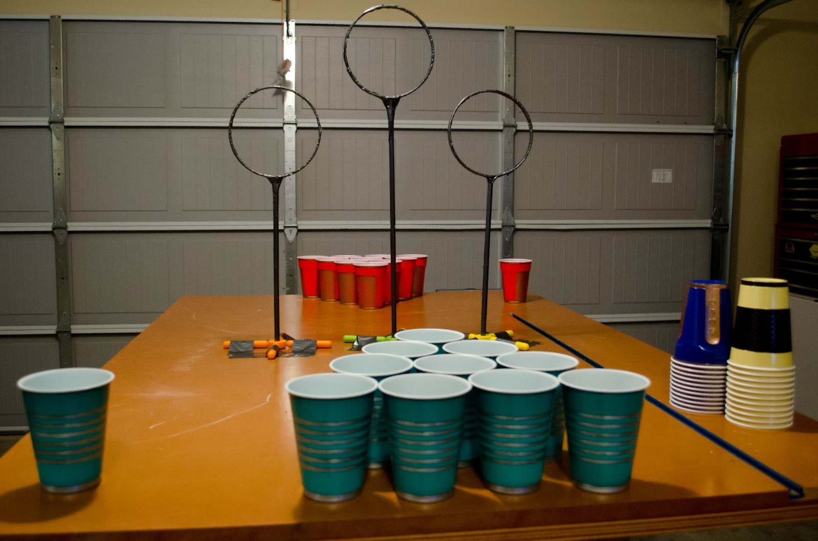 how to make golf beer pong