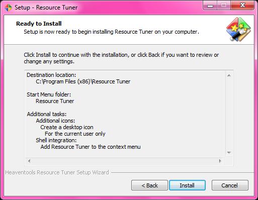 resource tuner full