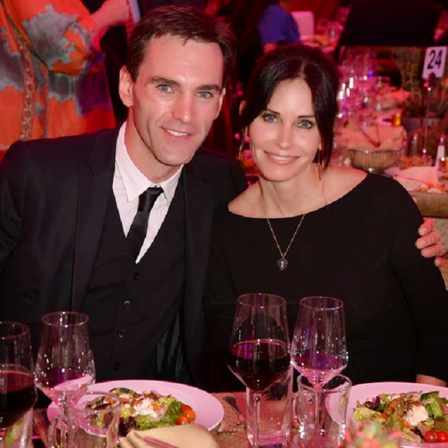 Johnny McDaid, Courteney Cox