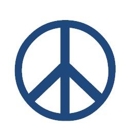 Symbole clavier caractère spécial peace and love