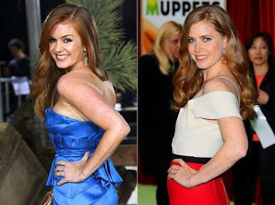 Isla Fisher dan Amy Adams