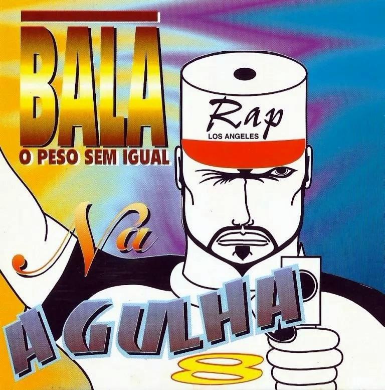 Bala Na Agulha - O Peso Sem Igual Vol .8 - Raridade