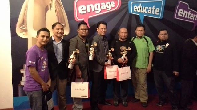 CiKGUHAiLMi Menang Best Educational Blog MSMW 2014!