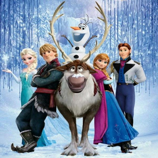 Decoração Frozen Uma aventura congelante!