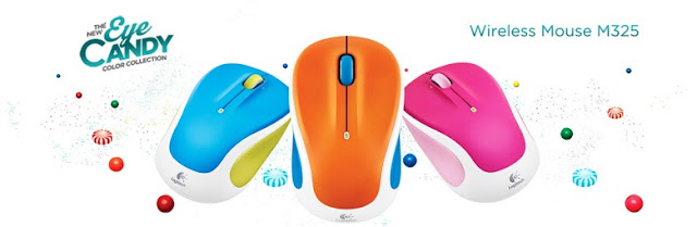 Logitech Wireless Mouse M325 Color Collection