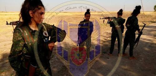 Cristãs enfrentam o EI com uma milícia na Síria
