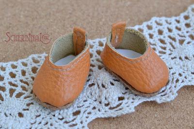 туфли для куклы своими рукаим