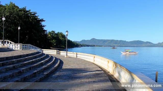 Rizal's Landing Site facing the bay in Dapitan