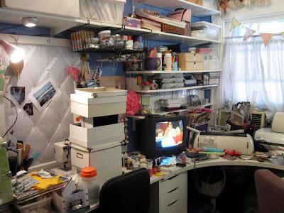 Craft Corner Clean-up