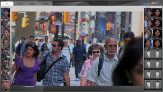 Glasses  combat facial recognition systems