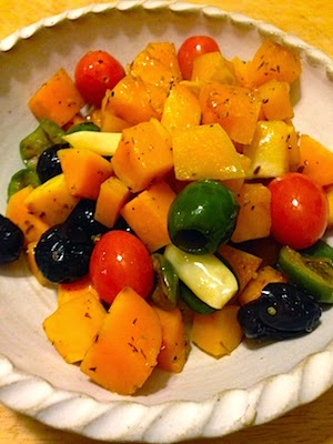 Roasted Butternut Squash with Olives by Future Relics Gallery