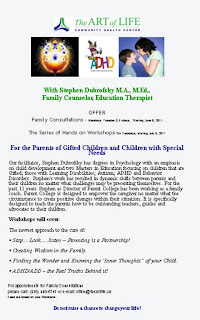 Family Counseling Course for Parents of Gifted Children and Children with Special Needs at The Art of Life Community Health Centre