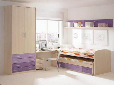 Decora el hogar dormitorios modernos y juveniles - Camas juveniles modernas ...