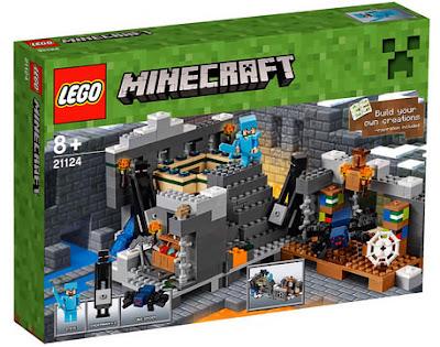 TOYS : JUGUETES - LEGO Minecraft 21124 The End Portal Producto Oficial 2016 | Piezas: | Edad: +8 años Comprar en Amazon España & buy Amazon USA