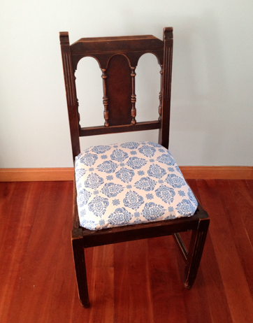 Reupholstering A Dining Chair