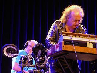Józef Skrzek et Harald Grosskopf / photo S. Mazars