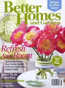 Brinde Gratis Revista Better Homes & Gardens