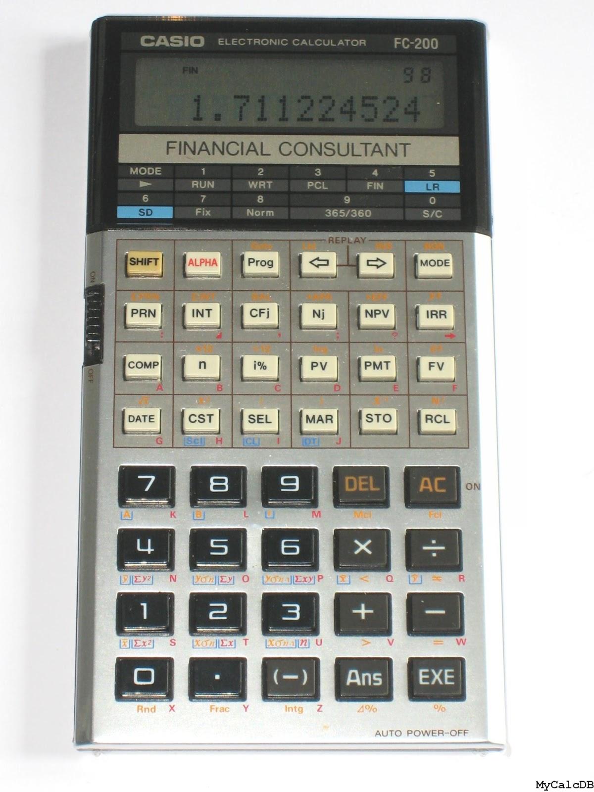 masterfinanciero es calculadoras financieras rh masterfinanciero es HP 17Bii Types HP 17Bii Financial Calculator