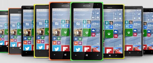 Windows 10 Mobile ocupará cerca de 4,5 GB de espaço de armazenamento