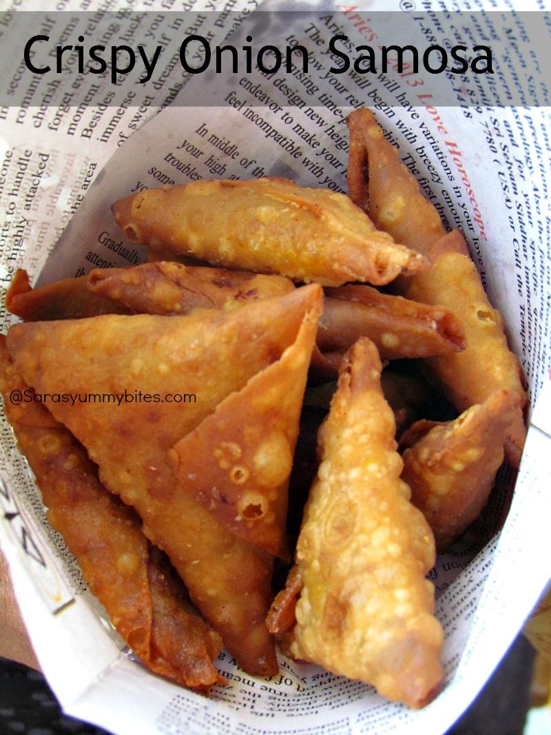 Indian food recipes indian recipes desi food desi recipes crispy onion samosa forumfinder Image collections