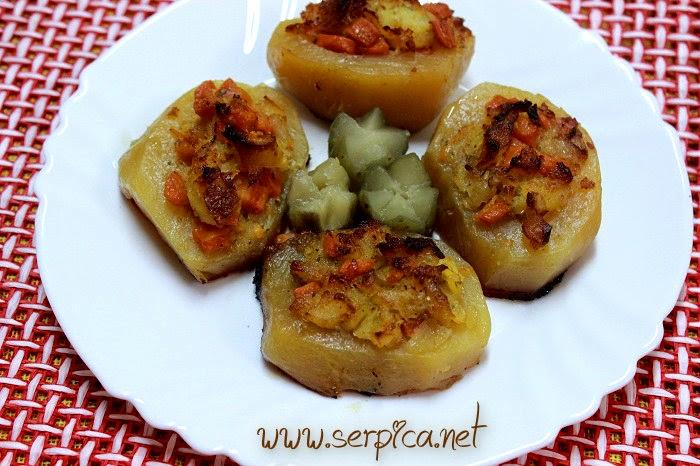 Punjeni krompir sa oslićem