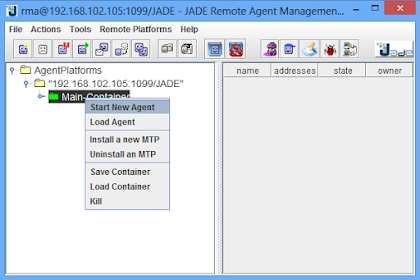 Pembuatan Agent Baru pada Java Agent Development Environtment (JADE)
