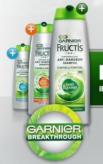 Amostra Gratis Shampoo Garnier Anticaspa