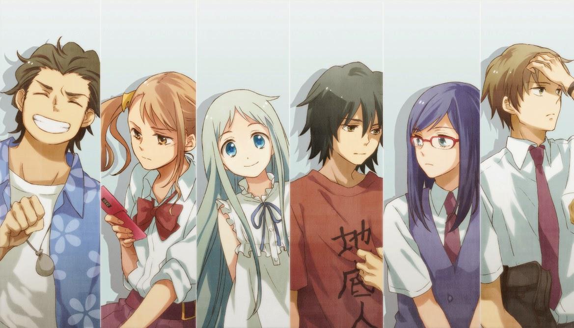 Anime Ini Menceritakan Tentang Kisah Enam Orang Anak Yang Dari Kecil Bersahabat Dan Membuat Kelompok Bernama Super Peace Buster
