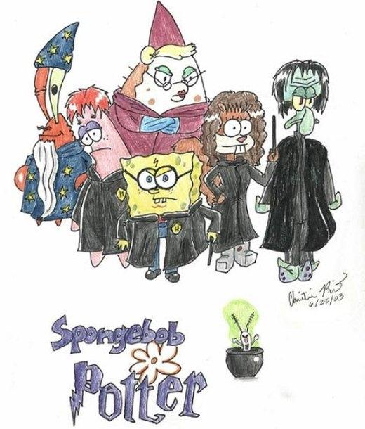 Spongebob Potter por HapyCow