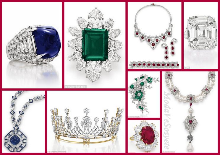 Elizabeth Taylor 'ın mücevher koleksiyonu