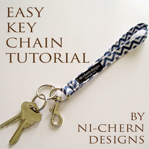 easy key chain tutorial by ni-chern designs