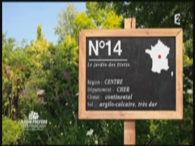 """Emission TV """"Le Jardin préféré des Français"""""""