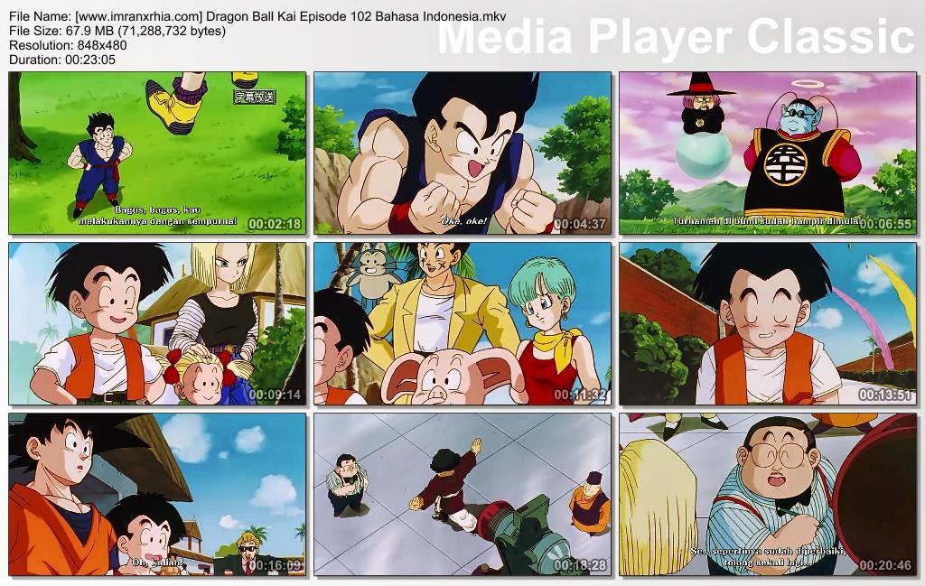 Download Film / Anime Dragon Ball Kai Episode 102 (Tim Naga Telah Berkumpul! Son Goku Telah Kembali!) Bahasa Indonesia