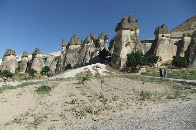 Chimeneas Mágicas o de las hadas (Cerca de Uçhisar - Capadocia)