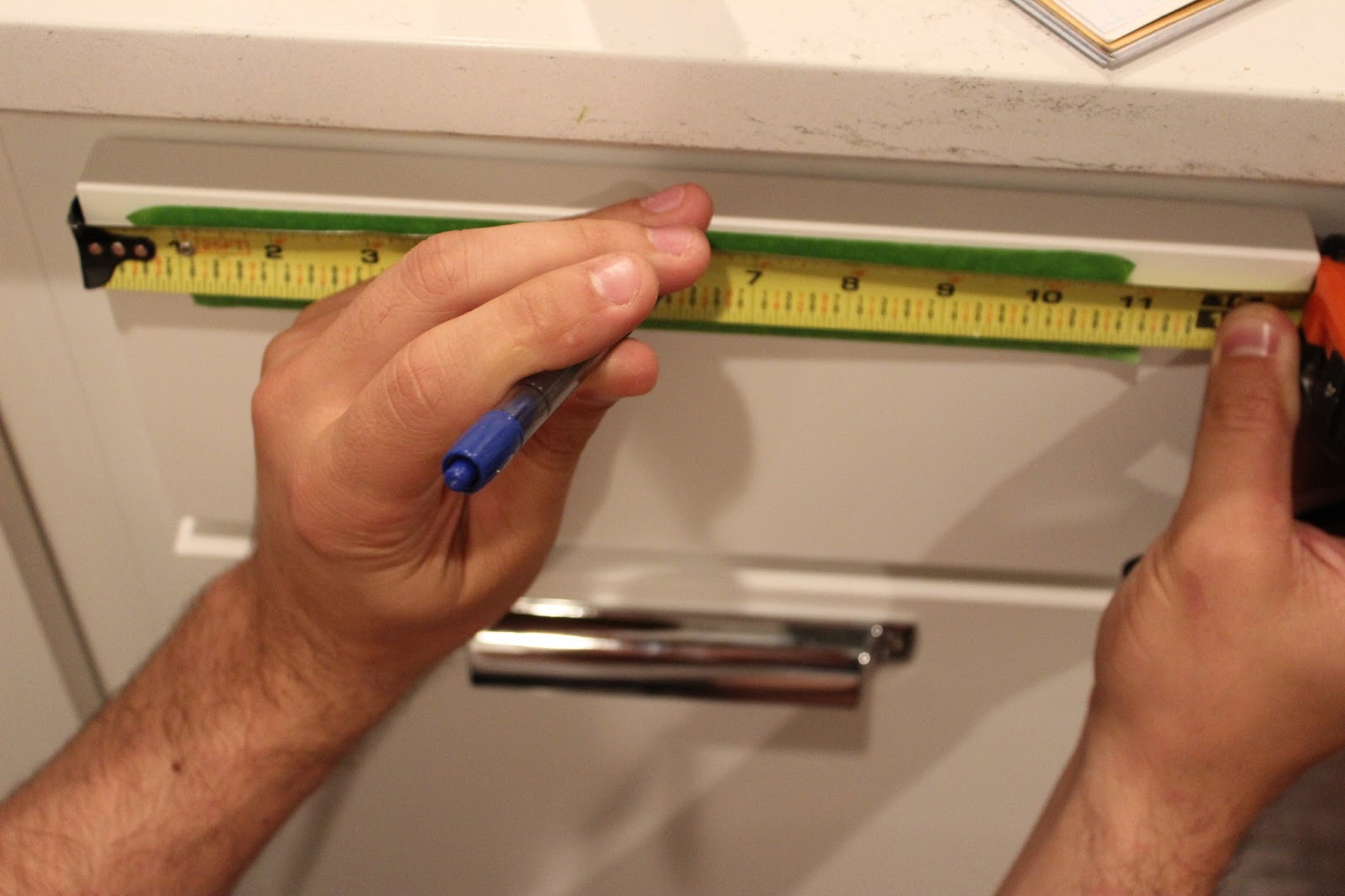 How To Install Kitchen Cabinet Hardware Tutorial Dream