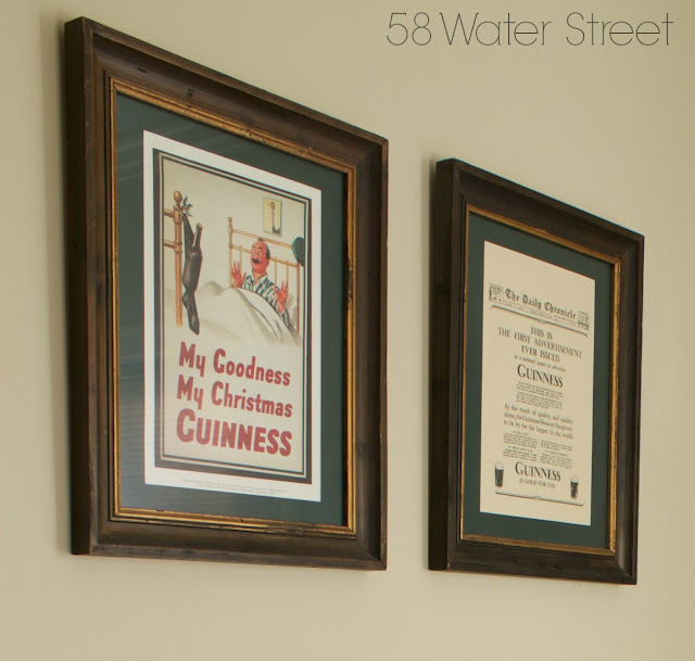 58 Water Street, Holiday guest room, holiday decor, design, decorating, christmas, vintage, guinness