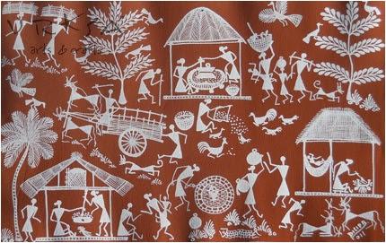 Vrksa Arts Amp Crafts Warli Street Indian Tribal Art