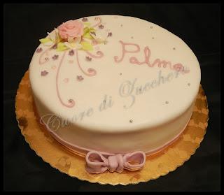 flower cake - torta delicata con fiori