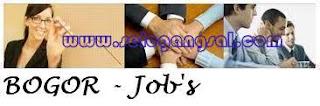 Lowongan Pekerjaan Bogor Terbaru mei 2013