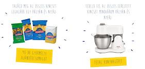 Nyerj TEFAL Masterchef Compact konyhagépet vagy a 90 darab Gyermelyi ajándékcsomag egyikét!