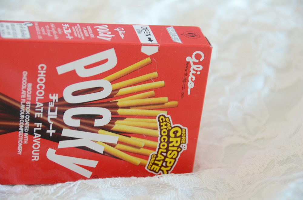 Pocky is a popular Japanese chocolate-covered sweet snack, and Blippo sells it in flavors ranging from chocolate to matcha to panda bear and much more.