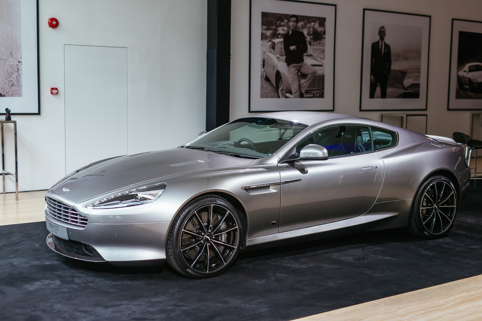 aston martin vip launch of its new showroom, workshop and db10 on