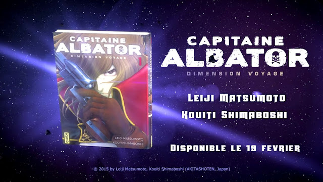 Capitaine Albator - Dimension Voyage - Trailer aux éditions Kana