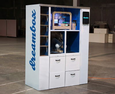 Dreambox: uma impressora 3D disfarçada de vending machine