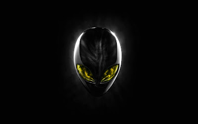Alienware Yellow Eyes Wide Screens Wallpapers