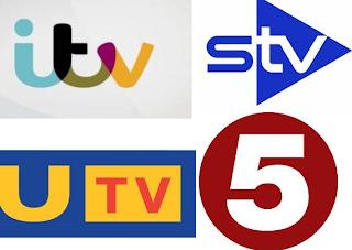ITV, UTV, STV, Channel 5