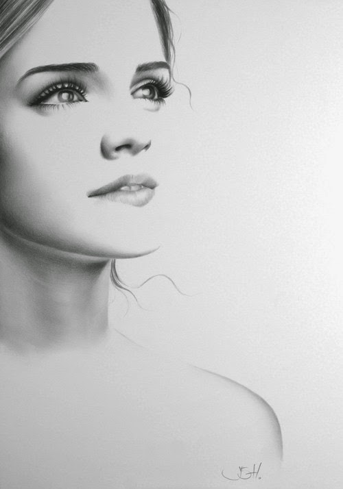 05-Emma-Watson-Ileana-Hunter-Recognise-Portrait-Drawings-Detail-www-designstack-co