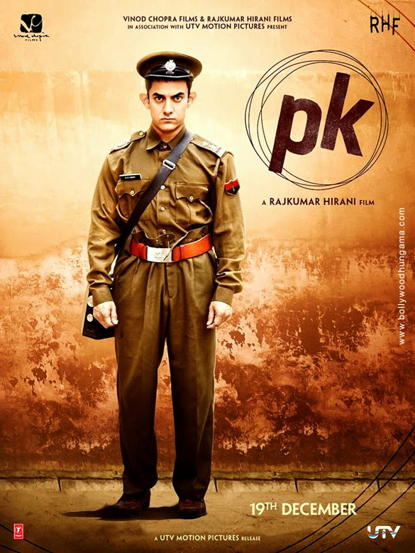 Amir Khan's PK first look posters