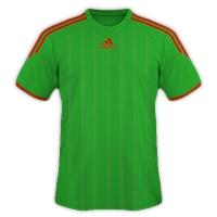 Desain Jersey Gratis Sepakbola dan futsal hijau merah